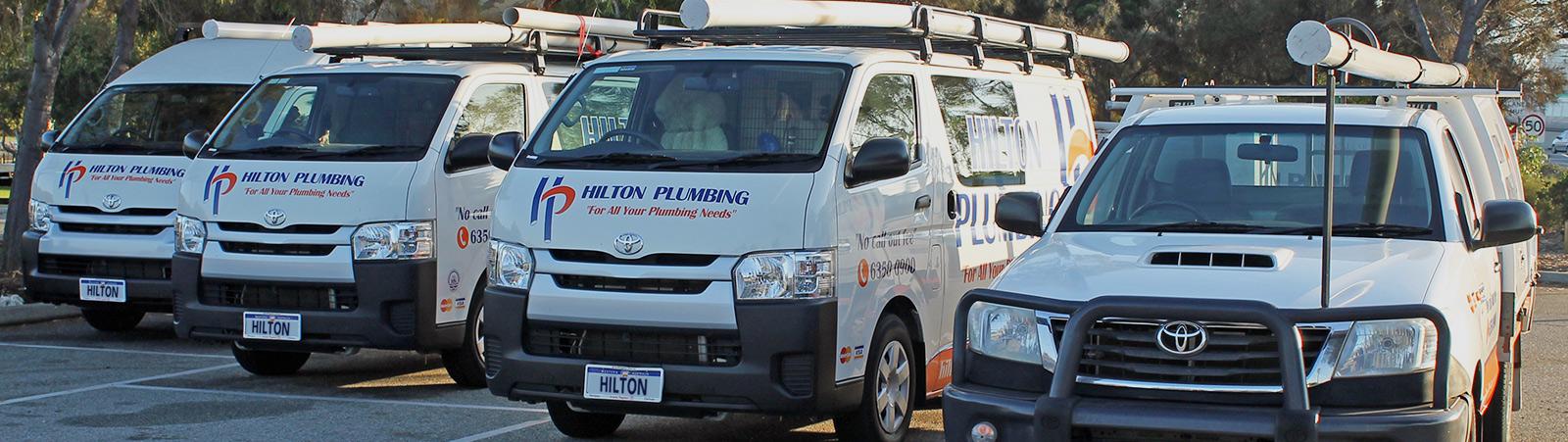plumbing vans and truck