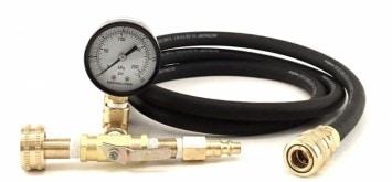 pressure leak detection
